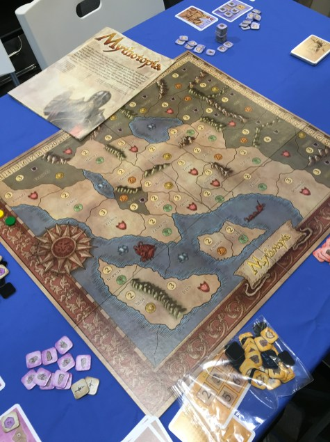 Mythotopia de Martin Wallace, un Acres of Snow pour 4 joueurs