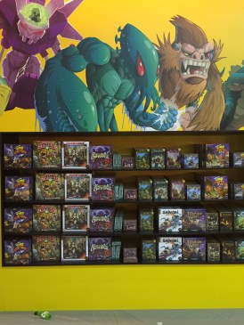 Le display (impressionnant) d'Iello