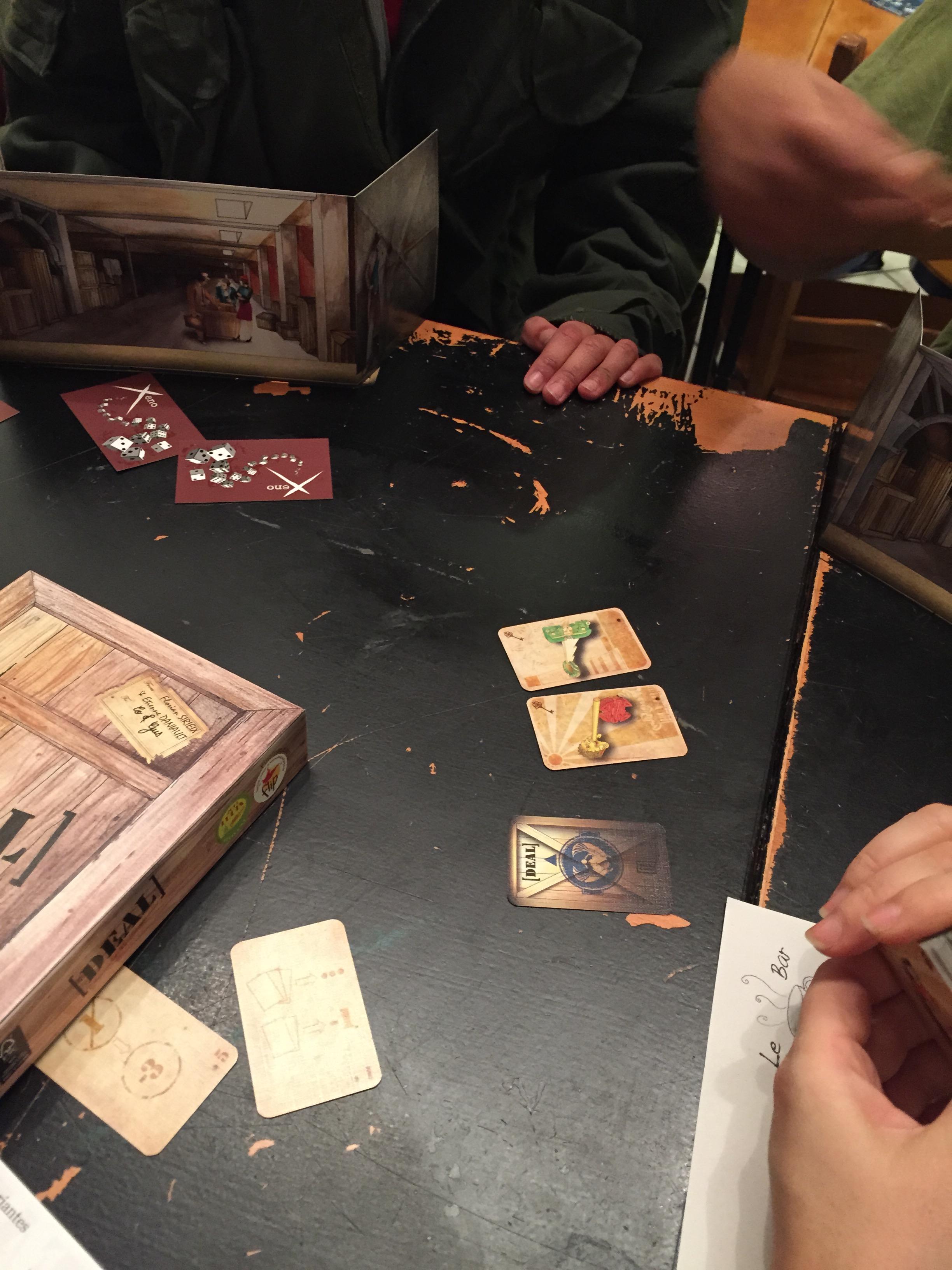 Deal, un excellent jeu à 2-3 joueurs