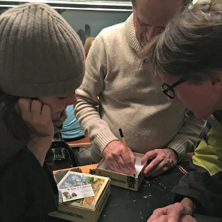 Alain Ollier, éditeur chez Blackrock, dédicace Armadöra, un jeu Blackrock