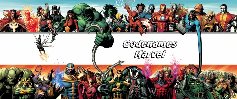 codenames marvel