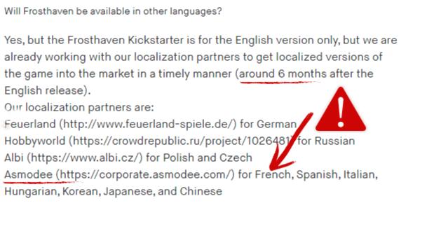 Frosthaven devient le jeu de plateau le plus financé sur Kickstarter !