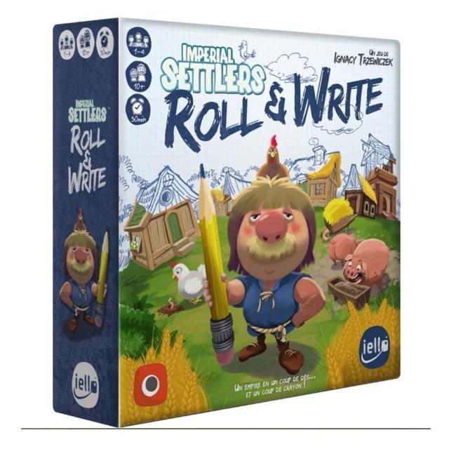 Imperial Settlers: Roll & Write, vous pouvez y jouer maintenant sur appli