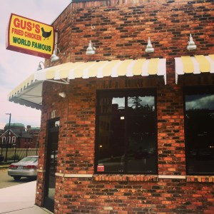 Gus's Fried Chicken Detroit Michigan street view