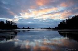 Sunset Bay Reflections