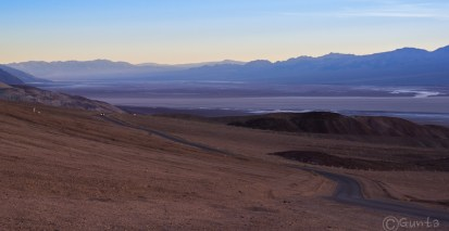 Badwater Basin includes the lowest point in North America at 282 feet below sea level