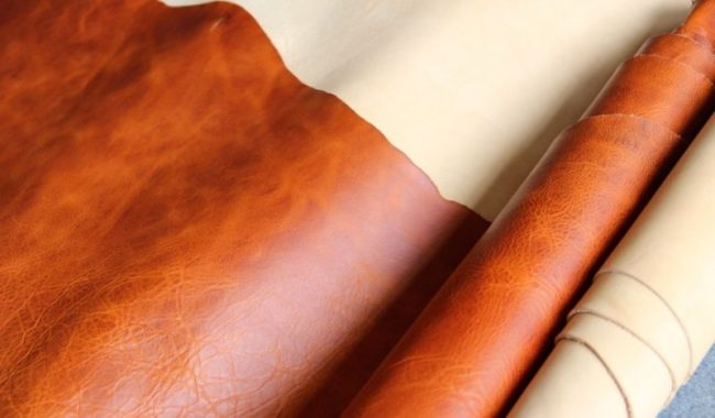 Jual Bahan Kulit Pull-up Leather