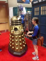 "Oh noes! A Dalek! (This thing surprised the crap out of me when it screamed ""Exterminate!"" when I was not expecting it)."