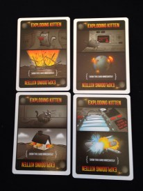 These are the exploding kittens who will kill you in adorable ways.