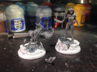 Finally, plastic Silent Ones!! My Cult of December final have their priestesses!