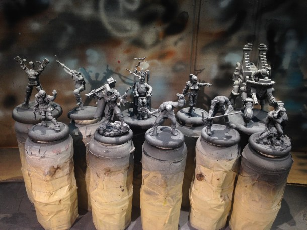 Zenithally primed and ready for paint!