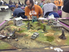 Game 1 of the Malifaux Tourney