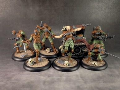 Von Schill and his crack team of mercenaries.