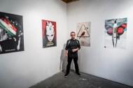 Abraham Mendez personal posters exhibition