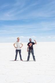 Salar de Uyuni con Lutz Wildermann