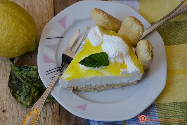 Cheesecake tiramisu al limone - Ricetta senza cottura