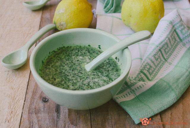 salsa verde alla menta