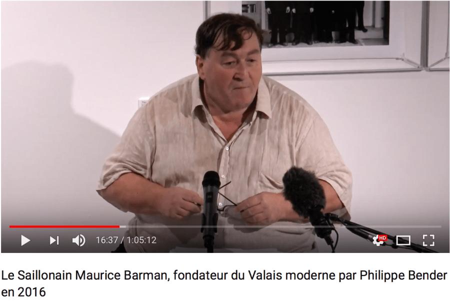 Maurice Barman par Philippe Bender
