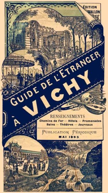 Publicité des thermes de Vichy