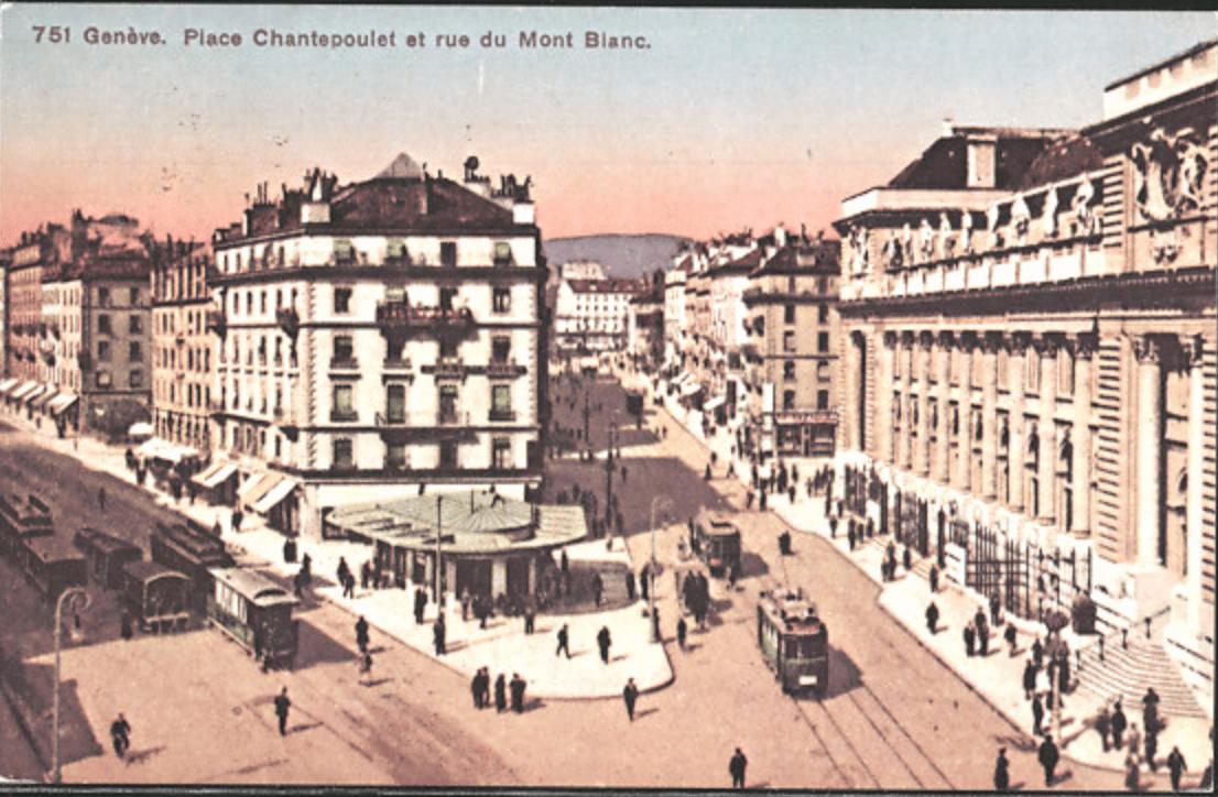 Place Chantepoulet, Genève