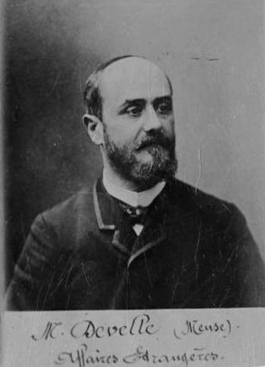Jules Develle, Ministre des affaires étrangères