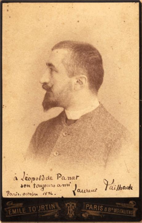 Laurent Tailhade, né à Tarbes le 16 avril 1854 et mort à Combs-la-Ville le 2 novembre 1919, est un polémiste, poète, conférencier pamphlétaire libertaire et franc-maçon français.