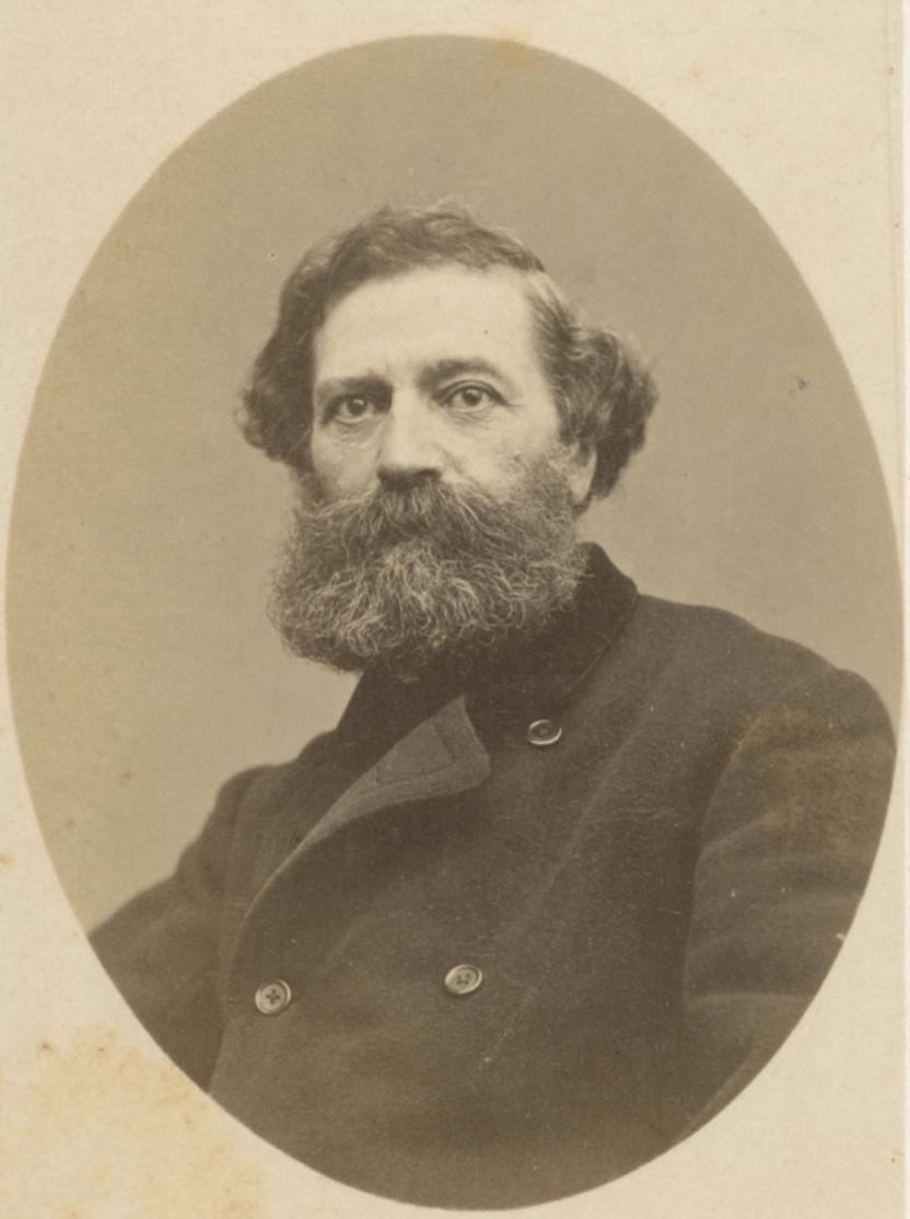 Félix Aimé Pyat (1810-1889) orateur hors-pair, journaliste, auteur dramatique et homme politique français, personnalité de la Commune de Paris