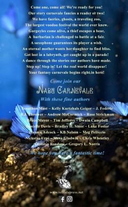 The Spell Books Vol 3 Nabu Carnevale Back Cover