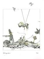 """""""Arrabal de juegos arrabales"""", de """"Dos cartas"""". Textos de Milan Kundera y Fernando Arrabal, imágenes de Gustavo Charif."""