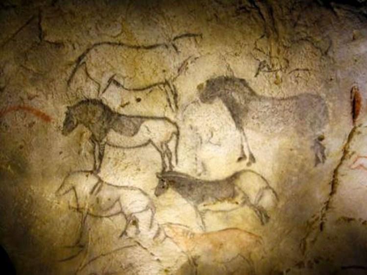 Las pinturas rupestres de las Cuevas de Ekain - Primeros registros sobre el caballo