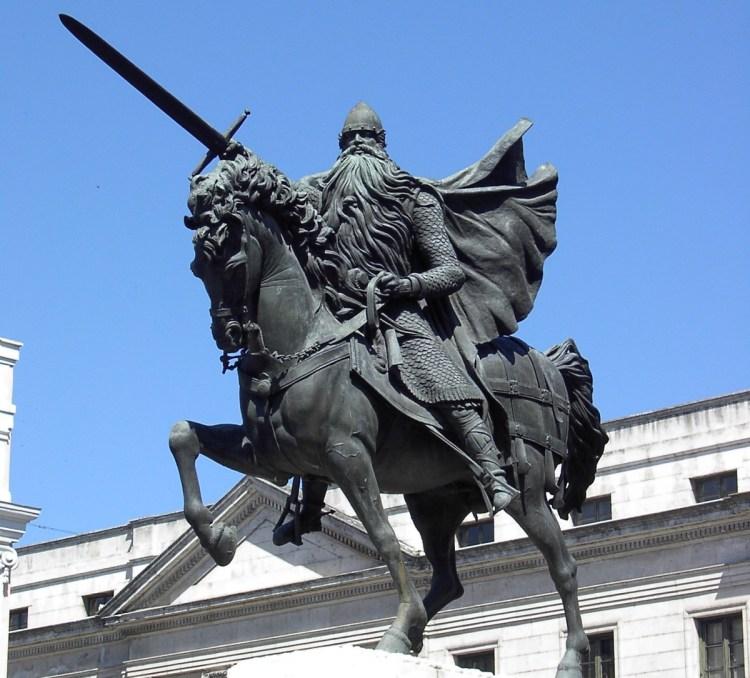 El Cid Campeador y Babieca