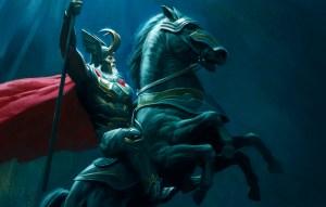Sleipnir, el caballo de Odín - Gustavo Mirabal