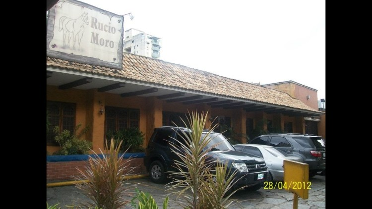 Rucio Moro - Reinaldo Armas restaurant named like his horse in its honor