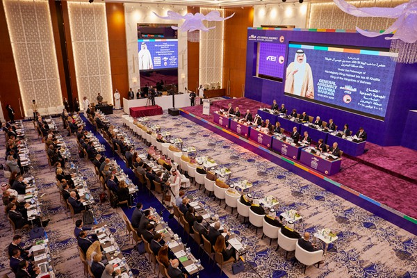 Opening of the General Assembly of the International Equestrian Federation in Manama (Bahrain)