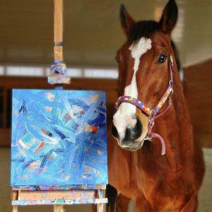 Metro - Un caballo pintor