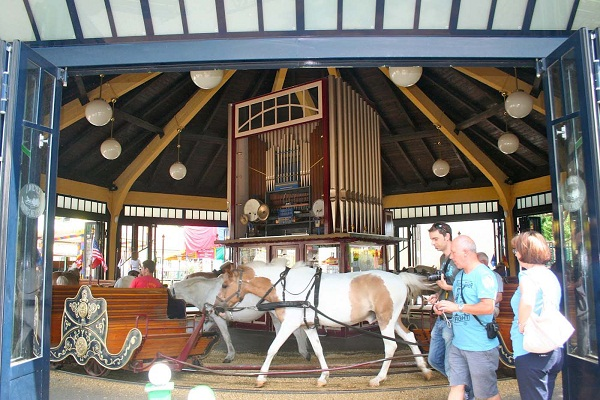 Prater Carousel with ponys