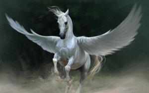 Pegaso, un famoso caballo mitológico