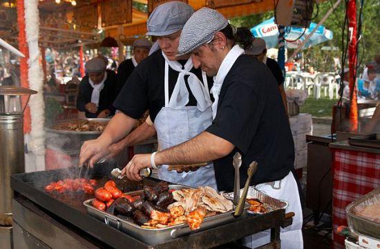 Gastronomía de Madrid - Fiestas_de_San_Isidro