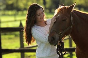 Mindfulness with horses