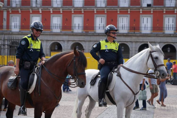 Officer of Cavalry of the National Police Corps of Spain