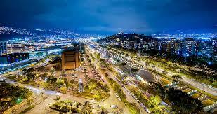 Ciudad de Medellín - Colombia.