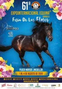 Afiche del Evento de la Expointernacional Equina Feria de las Flores.
