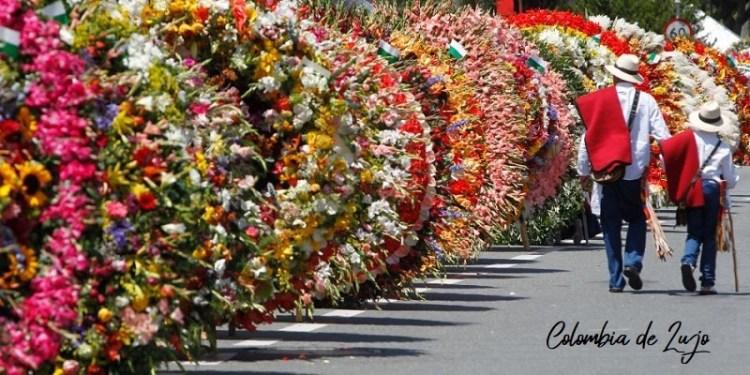 Desfile de los Silleteros de las Feria de las Flores.
