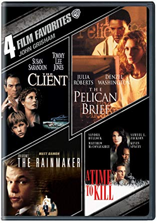 Four films adapted from John Grisham's books