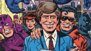 Avengers on David Letterman Show
