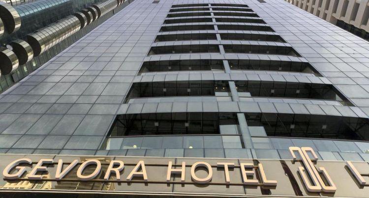 El hotel más grande del mundo Gevora Dubái