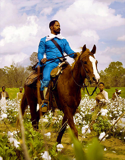 Jamie Foxx - Celebrities who love horses