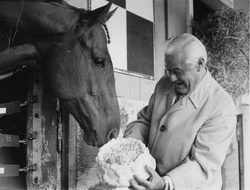 Lucien Laurin with Secretariat