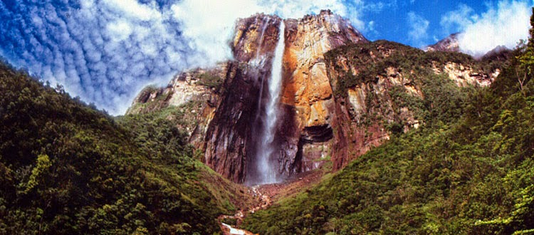 Salto Ángel - Estado Bolívar