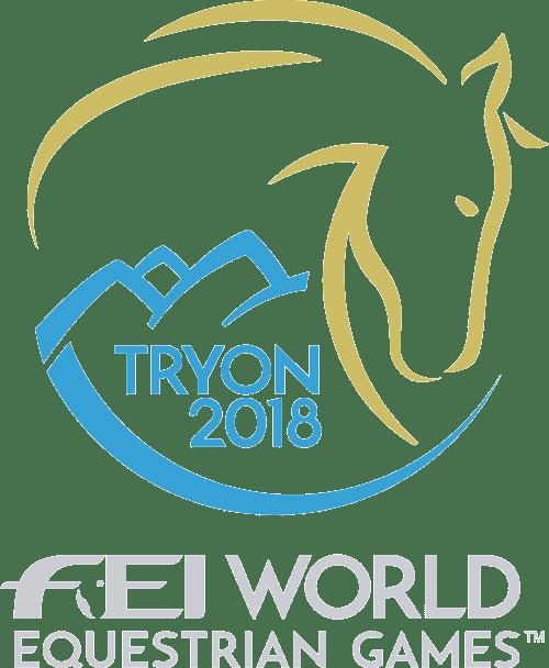 Logo de los Juegos Ecuestres Mundiales Tryon 2018